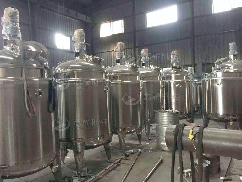 不锈钢反应釜 导热油加热反应釜 电加热反应罐